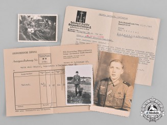 Germany, Third Reich. A Lot of Second War Period Death Notices