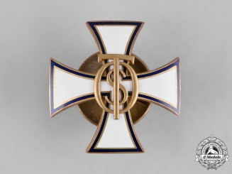 Estonia. An Estonian Army Reserve Officer's Cross, by Roman Tavast
