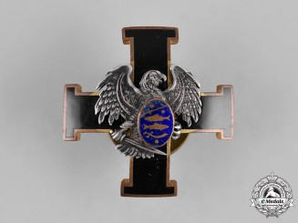 Estonia, Republic. A Badge of the Estonian Defence Forces, Naval Version, by Roman Tavast