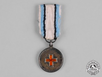 Estonia, Republic. A Miniature Red Cross Medal
