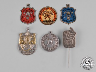 Estonia, Republic. A Lot of Badges & Insignia