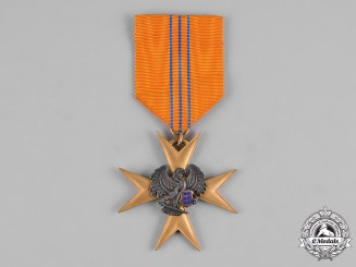Estonia, Republic. An Order of the Eagle Cross, Gold Cross