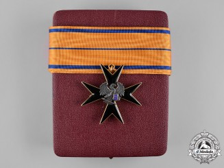 Estonia, Republic. An Order of the Eagle Cross, III Class with Case, c.1940