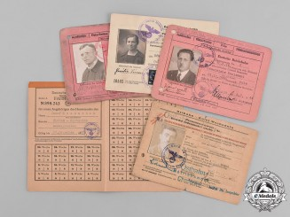 Germany, Reichsbahn. A Collection of German National Railway Identification Documents