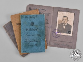 Germany, Imperial. A Lot of German Identification Documents
