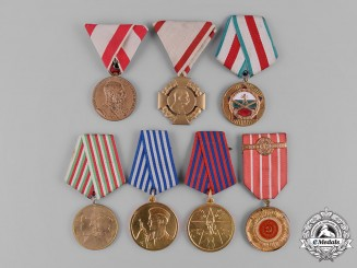 Europe. A Lot of Seven Awards & Decorations