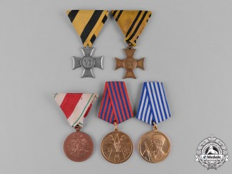 Europe. A Lot of Five Awards & Decorations
