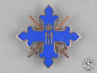 Romania, Kingdom. An Order of Michael the Brave, I Class with Swords, by C. F. Zimmermann, c.1944