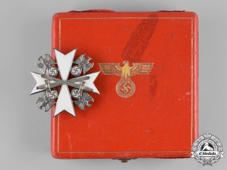 Germany, Third Reich. An Order of the German Eagle, II Class with Swords, by Gebrüder Godet