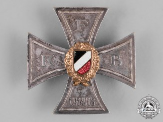 Germany, Imperial. A Frontkriegerbund Honour Cross, NSDAP Party Member Karl Waidhas