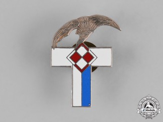Poland, Republic. A 4th Air Force Wing Badge