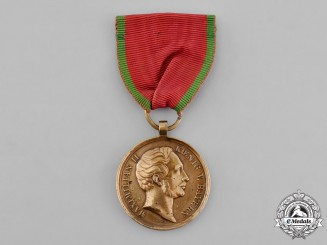 Bavaria, Kingdom. A Medal for Suppression of Rebellion in 1849 by Voigt of Berlin
