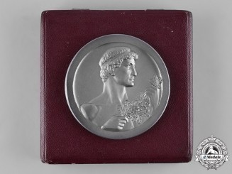 Germany, Third Reich. A 1942 General Government Table Medal, with Case, by the Official Vienna Mint