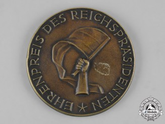 Germany, Weimar Republic. A 1929 Constitution Day Honour Prize by M. Noack