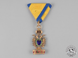 Austria, Imperial. An Order of the Iron Crown, III Class, with Lower Grade War Decoration (Rothe Copy)