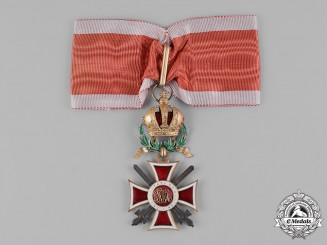 Austria, Imperial. An Order of Leopold, Commander, with War Decoration and Silver Swords (Rothe Copy)