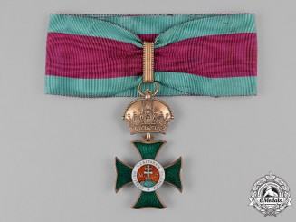 Austria, Imperial. An Order of St. Stephen, Commander Cross (Rothe Copy)
