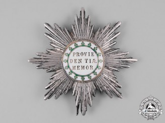 Saxony, Kingdom. A Royal House Order of the Rue Crown, Grand Cross Star (Collectors Copy)
