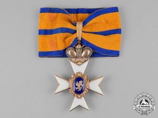 Schwarzburg-Rudolstadt, Principality. A Schwarzburg Duchy Honour Cross, I Class with Crown (Collectors Copy)