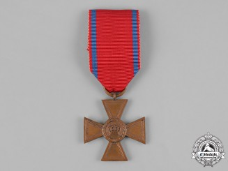 Württemberg, Kingdom. A 15-Year Long Service Cross, I Class