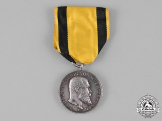 Württemberg, Kingdom. A Medal for Bravery and Loyalty