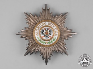 Germany, Imperial. A Knightly Order of St. George, Grand Cross Star, by Godet