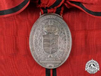 Württemberg, Kingdom. A Franco-Prussian War Veteran's Flag Medal