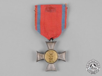 Württemberg, Kingdom. A Landwehr Long Service Award, I Class, c.1885