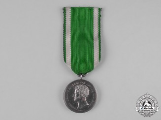 Saxe-Coburg and Gotha, Duchy. A Silver Medal for Art and Science by Helfricht, c.1870