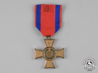Württemberg, Kingdom. A Honour Cross, I Class, for 25 Years of Service