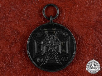 Germany, Wehrmacht. A Rare War Commemorative Medal of 1939/1940