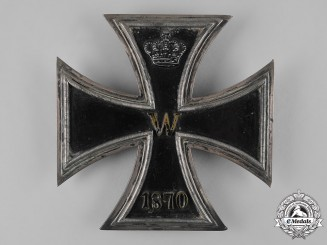 Germany, Imperial. An 1870 Iron Cross Museum Display Plaque