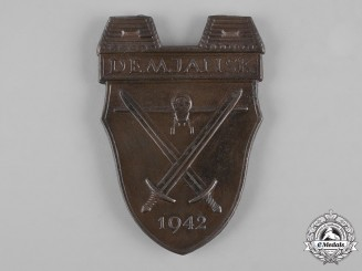 Germany, Federal Republic. A Demjansk Shield, 1957 Issue