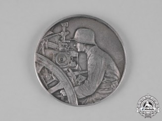 Germany, Heer. A 1938 II Place Shooting Prize to the 9th Battery of the 4th Artillery Regiment