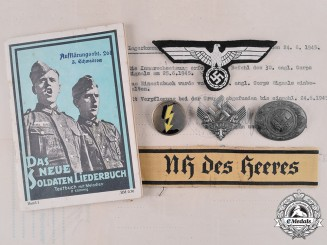 Germany, Wehrmacht. A Collection of Insignia, Documents, and Photographs of Wehrmachthelferin Maria Maier