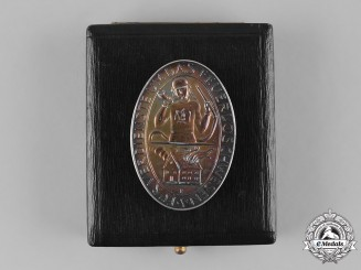 Germany, Third Reich. A Badge for Merit in Fire Fighting by the Prussian Mint, with Case