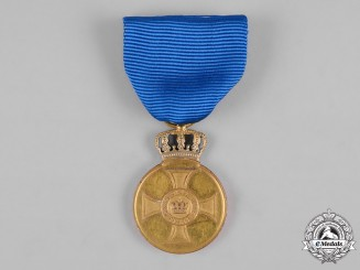Prussia, State. An Order of the Crown, Gold Medal