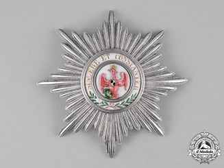 Prussia, Kingdom. A Rare Order of the Red Eagle, I Class Star, c.1820