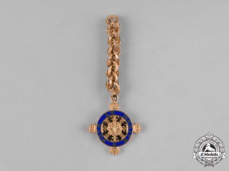 Germany, Federal Republic. A Pour-le-Mérite, Medal for Art and Science, Miniature, c.1960
