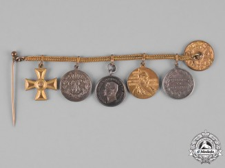Prussia, Kingdom. A Miniature Medal Chain