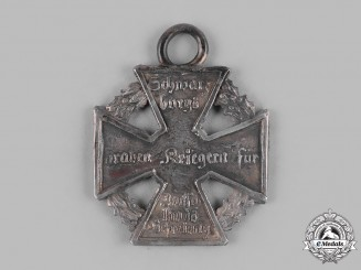 Schwarzburg-Rudolstadt, Principality. A Waterloo Campaign Merit Cross, ca. 1816