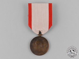 Lippe, Principality. An Order of Leopold, Bronze Merit Medal, c.1910