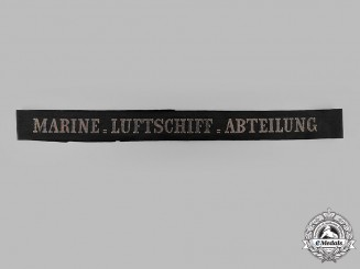 Germany, Imperial. A Naval Airship Department Cap Ribbon