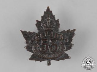 Canada, CEF. A 53rd Infantry Battalion Cap Badge