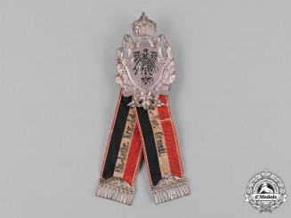 Germany, Imperial. An Elsaß-Lothringen (Alsace-Lorraine) Veterans Association Membership Badge by J. Hoffmann