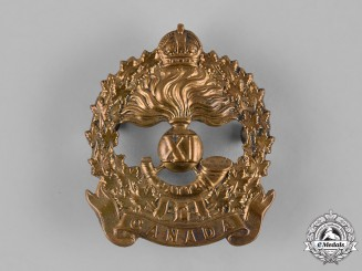 Canada, CEF. An 11th Infantry Battalion Cap Badge, c.1914