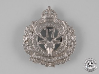 "Canada, CEF. A 17th Infantry Battalion ""Nova Scotia Highlanders""/""Seaforth Highlanders of Canada"" Glengarry Badge"