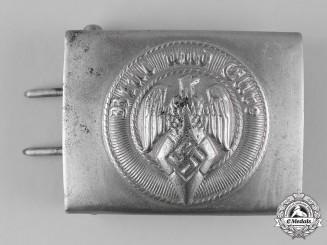 Germany, HJ. A Belt Buckle by Friedrich Linden