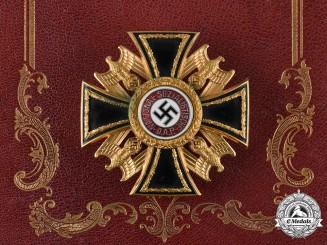 Germany, NSDAP. A Rare German Order, III Class Badge, by Wilhelm Deumer