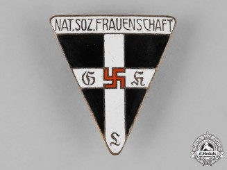 Germany, NS-Frauenschaft. A National Socialist Women's League (NS-Frauenschaft) Membership Badge